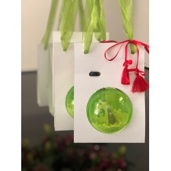GIVE-AWAY ORNAMENT - SET OF 2