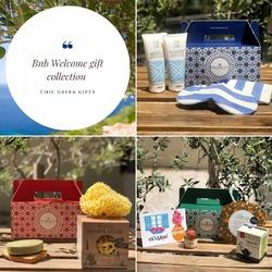 Διαχειρίζεστε κι εσείς βίλα, ξενοδοχείο ή BNB?  Μετά από έναν χρόνο παγκόσμιας πανδημίας, ήρθε η ώρα να δώσουμε ακόμη μεγαλύτερη αξία στους επισκέπτες μας.   Βρείτε στο νέο μας blog:   ✅ ιδέες για τα δικά σας welcome gift boxes ή pillow boxes  ✅ την αξία ενός surprise gift box για τον επισκέπτη  ✅ την παράδοση της ελληνικής φιλοξενίας  https://chicgreekgifts.com/smartblog/43_BnB-Welcome-Gifts.html  Και καλέστε μας στο +302810342268 για να δημιουργήσουμε μαζί το δικό σας giftbox για τους επισκέπτες σας!  #chicgreekgifts #wedelivergreece #greekhospitality #bnb #smallbusiness #welcomeGifts #pillowgifts #value